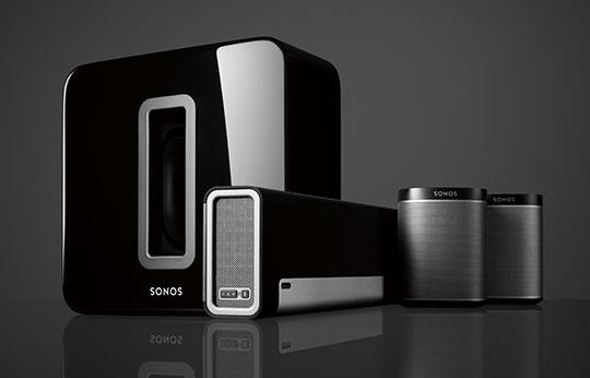 Sonos –HiFi-Anlage